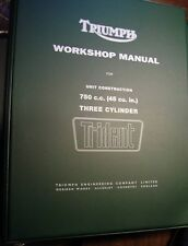 1969-74 Triumph T150, OEM, Factory Brown Wrap, Factory SHOP BINDER Supplements