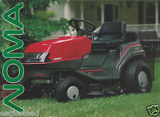 Equipment Brochure - Noma - Tractor Mower Tiller Product Line Overview (E3018)