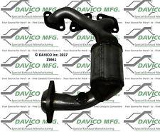 Catalytic Converter-Exact-Fit - Manifold Front Left Davico Exc CA 15661