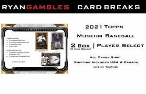 2021 Topps Museum Baseball | 2 BOX | Player Select Break