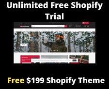 Free Unlimited Shopify Store Trial Free 199 Premium Theme And Apps