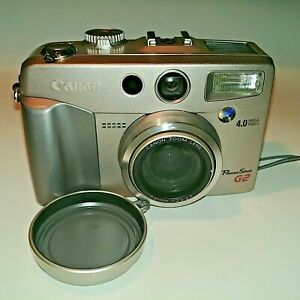 Canon PowerShot G2 Digital Camera 4.0 Mega Pixels Untested & As Is Made in Japan