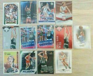 🔥 14! Cards Larry Bird Num/Inserts/Parallels Certified Optic Boston Celtics MVP