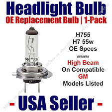 Headlight Bulb High Beam OE Replacement 1pk Fits Listed GM Models - H7 55