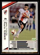 Panini/Sega (Japan) WCCF (2008-2009) Paulo Ferrari (C.A River Plate) No. 18