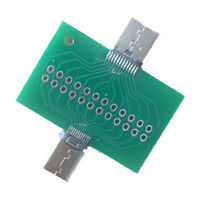 20V/5A USB 3.1 Type C Connector Module Male to Female Adapter Test Board