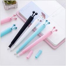 4 x Cute Kawaii Fun Black Snail Gel Ink Roller Ball Point Pen Korean Gift School