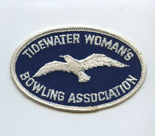 1960s Tidewater Womens Bowling Association Patch