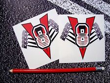 V8 Stickers V8 American Hot Rod Pontiac Mustang Corvette Muscle Car Gas monkeys