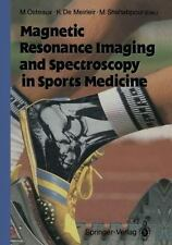 Magnetic Resonance Imaging and Spectroscopy in Sports Medicine (2011, Paperback)