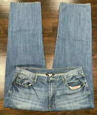 LUCKY BRAND 181 Relaxed Straight Men's Jeans Size 40 X 31 Stretch Distressed