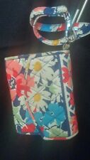 Vera Bradley Wristlet Wallet and Cell Phone Case