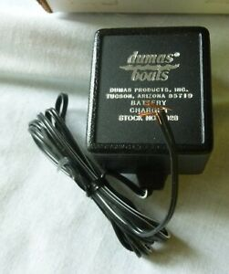 Dumas Boat  Battery Charger $2028 for #2032 12  2.5 Amp Dumas Battery