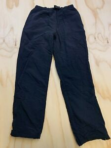 EASTERN MOUNTAIN SPORTS EMS MEN SIZE SMALL BLACK MESH LINED ACTIVE PANTS