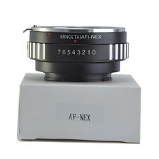 AF-NEX Adapter Ring Sony Alpha Minolta AF A Lens to Sony NEX E Mount Mirrorles