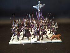 21 Dreadspears Mantic Warhammer Fantasy Age of Sigmar Dark Elf Plastic Paint