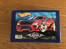 2002 Hot Wheels 24 Car Carrying Case 20050 Tara Blue Excellent condition!