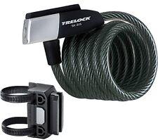 TRELOCK SK 215 180 cm+Soporte ZK432 Candado cable espiral Bicicleta