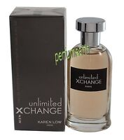 Xchange Unlimited  By Karen Low 3.4 oz/100ml Edt Spray For Men New In Box