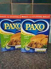 PAXO Sage & Oignon Farce Mix-Twin Packs. à Partir De £ 1.42 chaque + Gratuit p&p