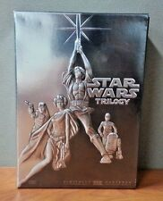 Star Wars Trilogy (DVD, 2004, 4-Disc Set, Widescreen) w/Slipcover   LIKE NEW