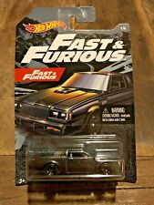 Hot Wheels 2019 Fast & Furious Buick Gran National Dom Black