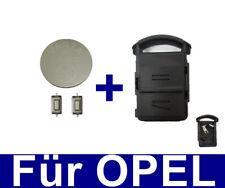 2T clé du logement pour Opel Corsa C MERIVA A Tigre B + 2x Bouton + Batterie