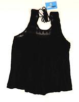 Papaya Womens Size 14 Geometric Black Tie Detail Top (Regular)