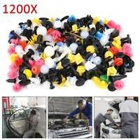 1200 X Auto Niete Clip Sortiment, Türverkleidung Für PKW KFZ Werkstattbedarf Set