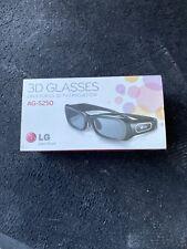Brand New Sealed LG AG-S250 Active 3D Glasses EBX61368401