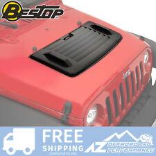 Bestop Hood Applique for 2007-2018 Jeep Wrangler JK 2 / 4 Door 81713-01 Black