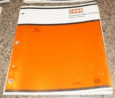 CASE 90 Front End Loader Parts Catalog Manual Book Rac 1396