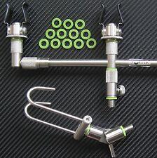 CARP Fishing Tackle O-RING X36 Fit Snag Bar Rod Rest Pod keep net 7&12mmØ gbs36