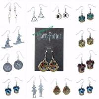New Official Genuine Harry Potter Silver Plated Earrings-Great Gifts!