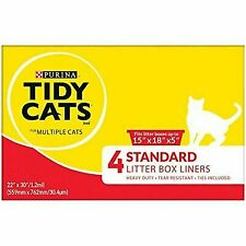 Purina Tidy Cats Liners - 4 Count 2 Boxes