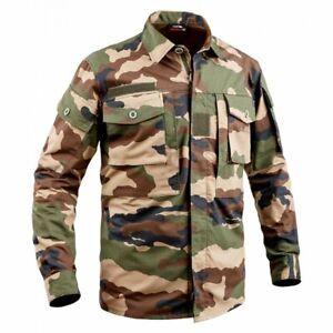 Chemise guerilla 2 poches cce militaire armée randonnée airsoft para - T.O.E