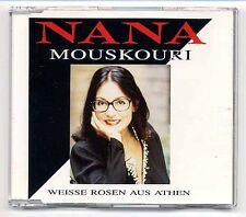 Nana Mouskouri Maxi-CD Weisse Rosen Aus Athen - 3-track CD