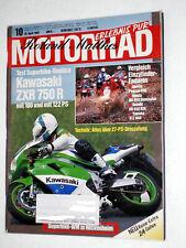 MOTORRAD 10-92+KAWASAKI ZXR 750+SUZUKI DR+YAMAHA XTZ XC+HONDA NX+APRILIA PEGASO