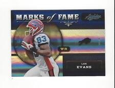 2011 Absolute Memorabilia Marks of Fame Spectrum #6 Lee Evans Bills /100