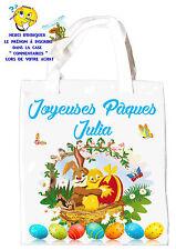 sac shopping pâques sac pour la chasse aux oeufs sac à cadeaux réf 49