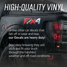 FX4 Off Road Decals | F Truck Stickers | Bed Side Graphic | Ford F150 | best