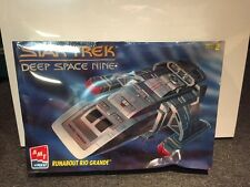 Star Trek Deep Space Nine Runabout Rio Grande Amt Ertl Model Sealed New