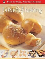 Step-by-Step Practical Recipes: Breads & Baking, , Very Good Book