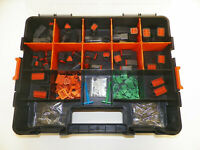 358 PC BLACK OEM DEUTSCH DT CONNECTOR KIT SOLID CONTACTS + REMOVAL TOOLS