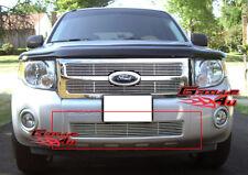 Fits 08-11 2011 Ford Escape Lower Bumper Billet Grille Insert