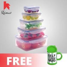 Keimavlock 10-Pc Airtight Food Storage with Self Stirring Mug (Green)