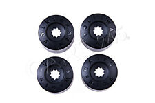 Genuine Wheel Locking Lug Bolt Caps x4 pcs VW Arteon Beetle Cabrio 3C06011739B9