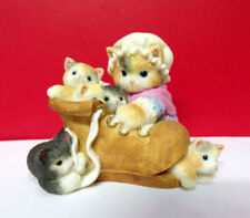 Miniature Calico Kittens There'S Always Room For You Mini Kitty Cat Figurine