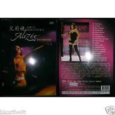 ALIZEE En Concert TAIWAN DVD SEALED w/SLIPCASE ALL REGION