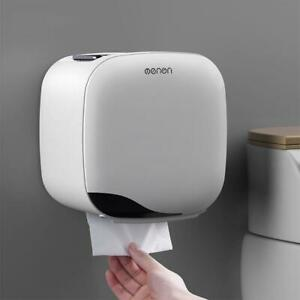 Waterproof Wall Mounted Tissue Box Bath Toilet Paper Holder Storage Wall Mounted